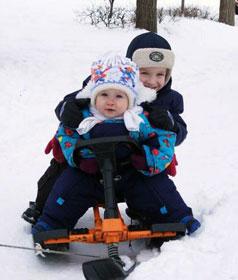 detskiy snegokat