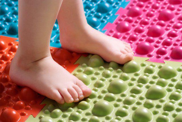 слой сделан коврик для новорожденных ортопедический для ног холодных погодных условий